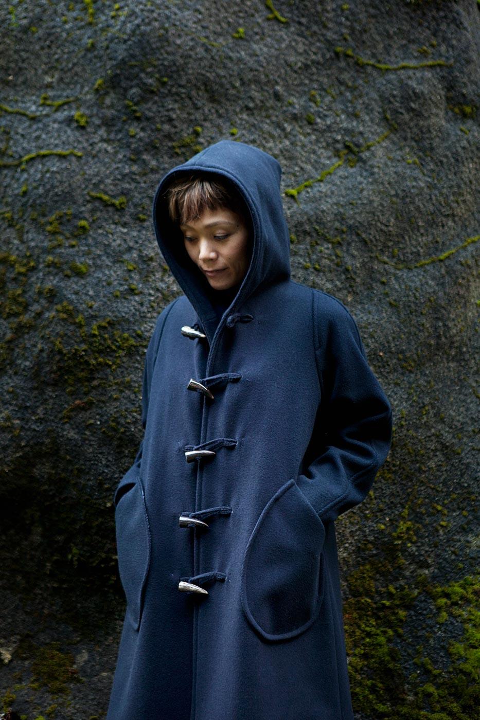 Coat Made of Wool Kersey