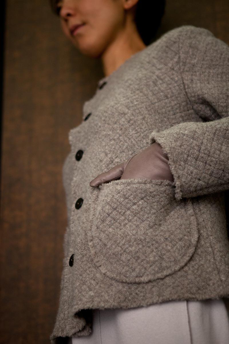 Jacket Made of Shetland Wool