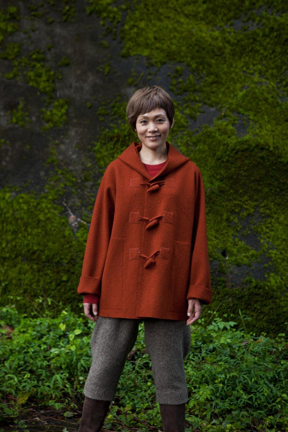 Jacket Made of Felt Wool