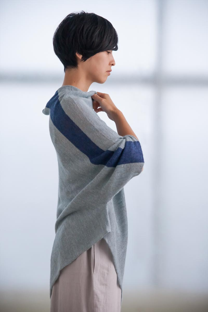 Sweater Made of Linen and Silk