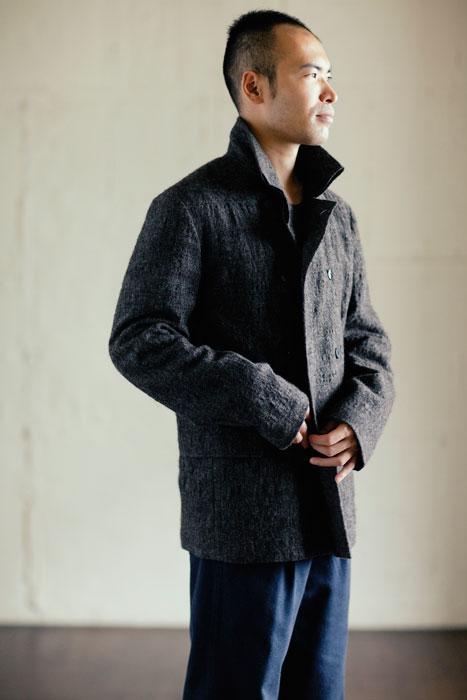 babaghuri 2011 winter: Mens Jacket Made of Alpaca Wool