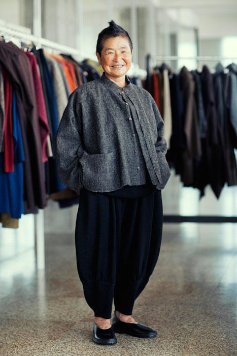 Babaghuri 2011 winter: Short Jacket Made of Alpaca Wool