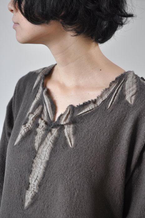 Babaghuri 2011 winter: Tie-Dyeing Wool Felt