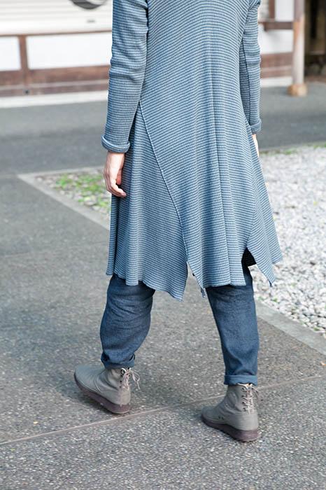 Babaghuri: Tunic Dress Made of Hemp and Cotton