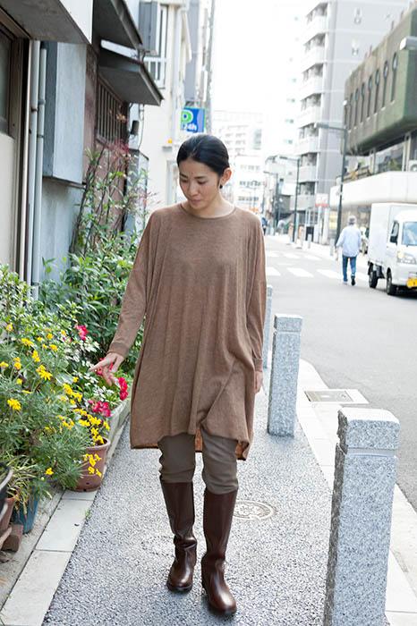 Babaghuri: Tunic Made of Royal Baby Alpaca Wool