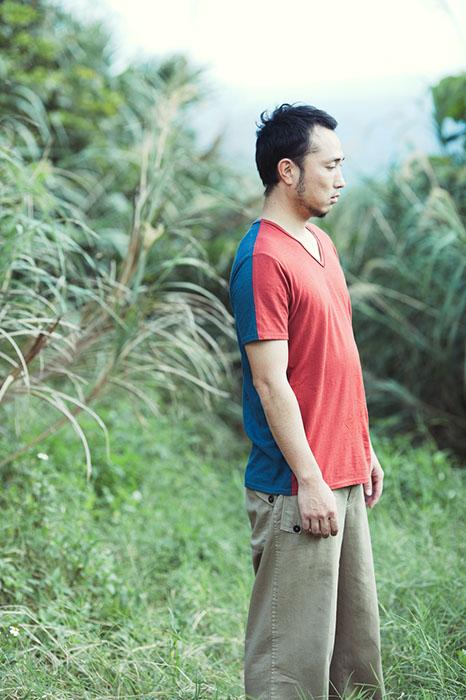 Babaghuri: Hemp-Cotton Jersey T-shirt
