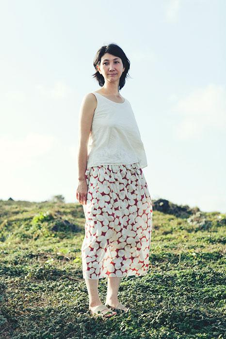 Babaghuri: Printed Cotton Skirt