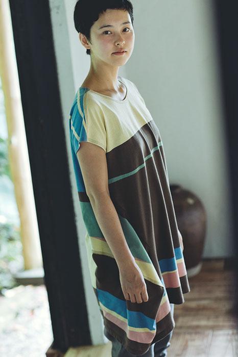 Babaghuri: Stripe Dress
