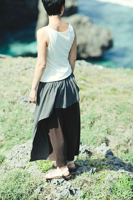 Babaghuri: Layered Skirt