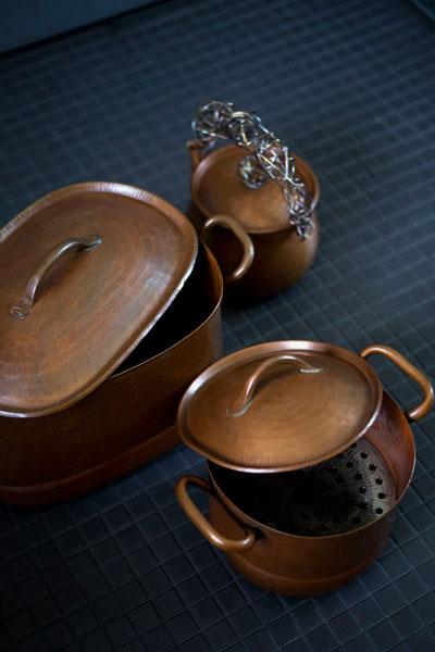 Babaghuri: Hand-Hammered Copper Kettle, Pot
