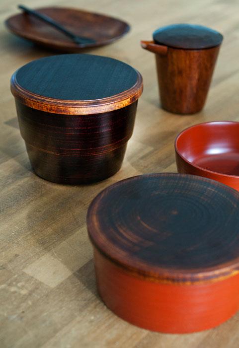 Lacquerware by Tomoyoshi Miyashita