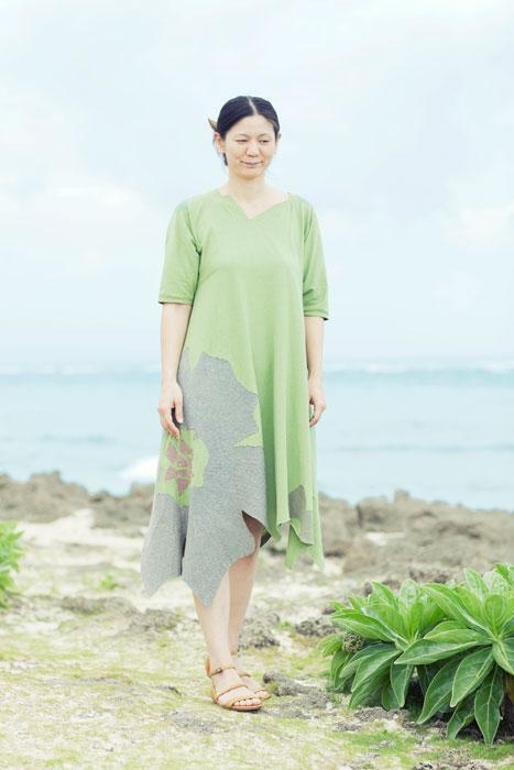 applique summer dress