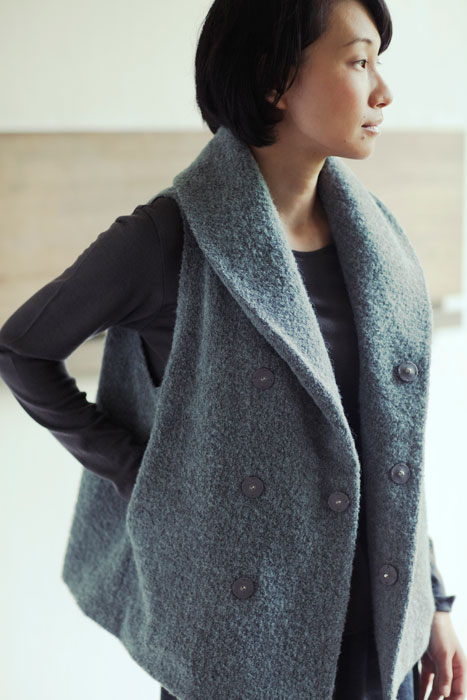 Jurgen Lehl 2011 winter: Vest Made of Alpaca Wool