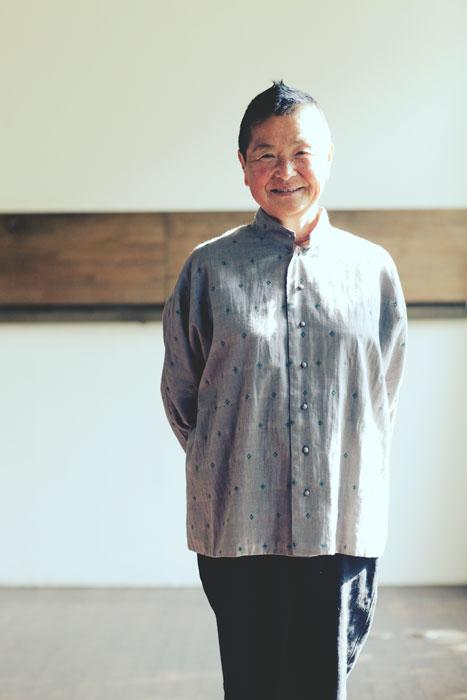 Jurgen Lehl 2012 spring: Jacquard Jacket Made of Indian Cotton