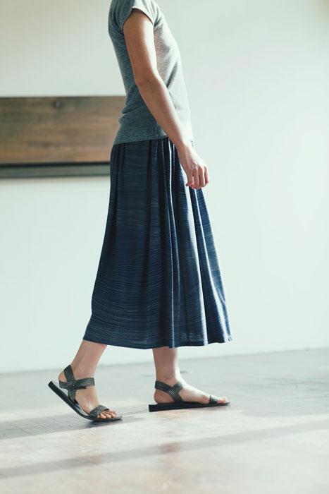 Jurgen Lehl 2012 spring: Printed Skirt
