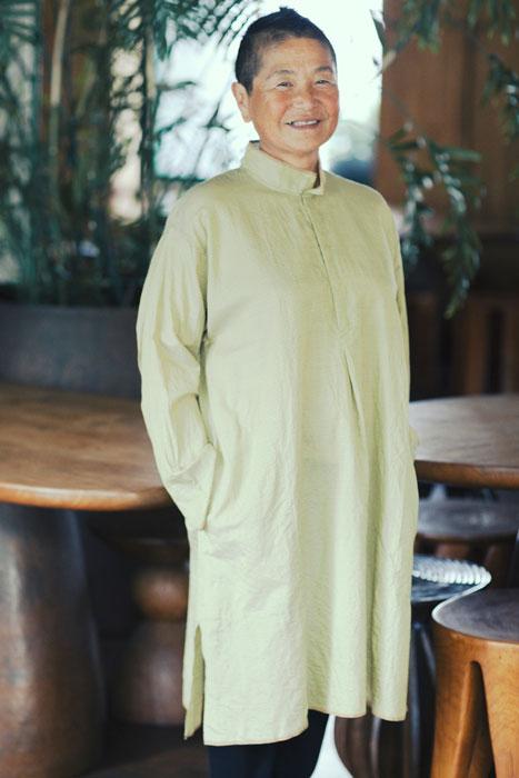 Jurgen Lehl 2012 spring: Shirt Dress Made of Indian Cotton