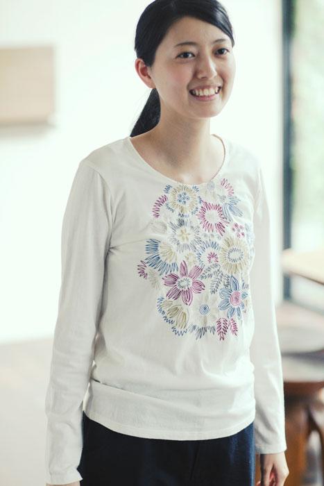 Jurgen Lehl 2012 spring: Embroidered T-Shirt