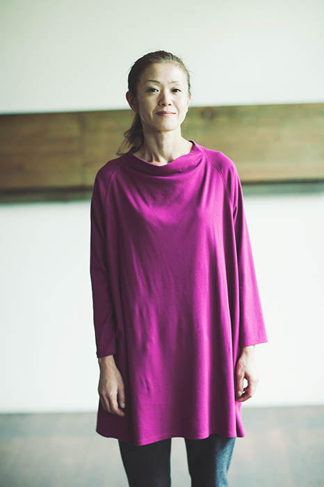 Tunic Made of Slightly Brushed Smooth Cotton