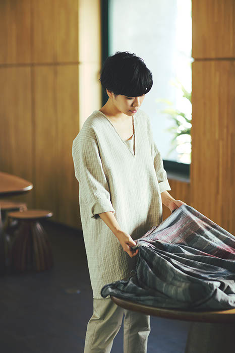 Warm Linen-Cotton Tunic