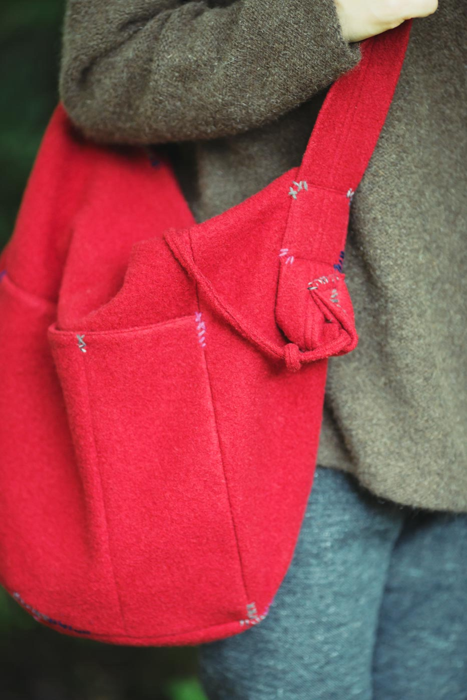 Felt Stitched Bag