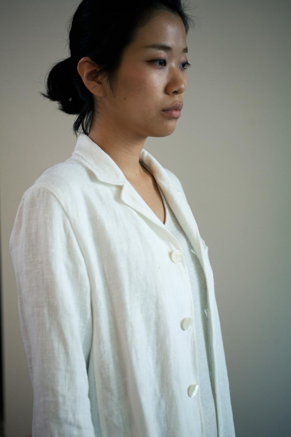 Jurgen Lehl Jacket Made of Lithuania Linen