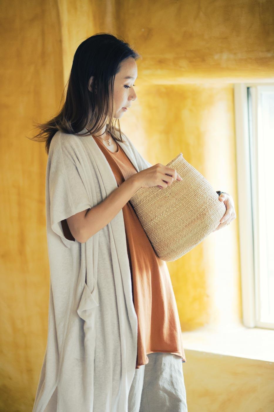 Jurgen Lehl: Jacket Made of Linen, Cotton and Silk